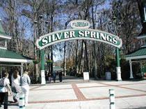 Eingang zum Silver Springs Nature Theme Park © NeilEvans