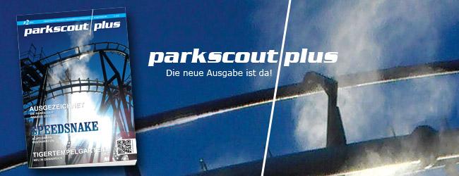 Die neue Ausgabe parkscout|plus ist da: 02/2014