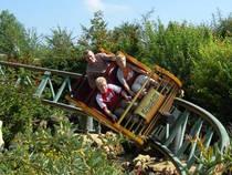 Gsengte Sau im Erlebnispark tripsdrill